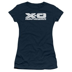 Xo Manowar - Womens Logo T-Shirt