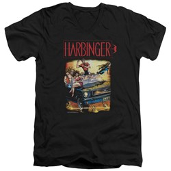 Harbinger - Mens Vintage Harbinger V-Neck T-Shirt