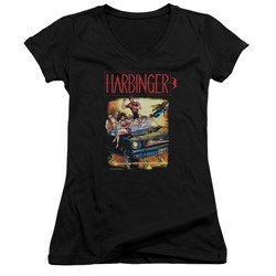 Harbinger - Womens Vintage Harbinger V-Neck T-Shirt