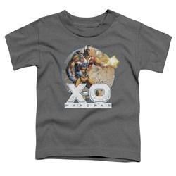 Xo Manowar - Toddlers Vintage Manowar T-Shirt