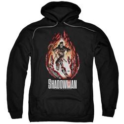 Shadowman - Mens Burst Pullover Hoodie