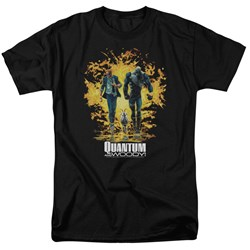Quantum And Woody - Mens Explosion T-Shirt