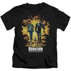 Quantum And Woody - Little Boys Explosion T-Shirt