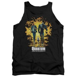 Quantum And Woody - Mens Explosion Tank Top