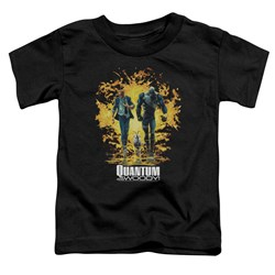 Quantum And Woody - Toddlers Explosion T-Shirt