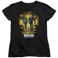 Quantum And Woody - Womens Explosion T-Shirt