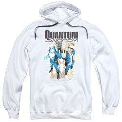 Quantum And Woody - Mens Quantum And Woody Pullover Hoodie