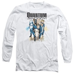 Quantum And Woody - Mens Quantum And Woody Long Sleeve T-Shirt