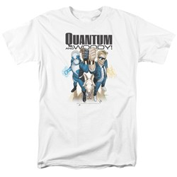 Quantum And Woody - Mens Quantum And Woody T-Shirt
