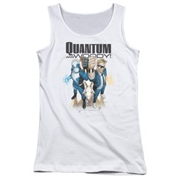 Quantum And Woody - Juniors Quantum And Woody Tank Top