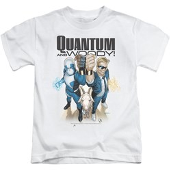 Quantum And Woody - Little Boys Quantum And Woody T-Shirt