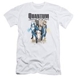 Quantum And Woody - Mens Quantum And Woody Slim Fit T-Shirt