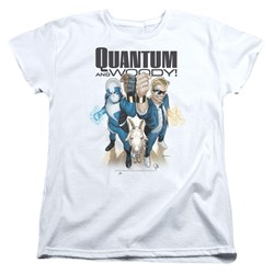 Quantum And Woody - Womens Quantum And Woody T-Shirt