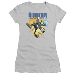 Quantum And Woody - Womens Three's A Crowd T-Shirt
