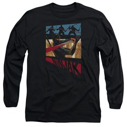 Ninjak - Mens Panel Long Sleeve T-Shirt