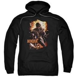 Ninjak - Mens Fiery Ninjak Pullover Hoodie
