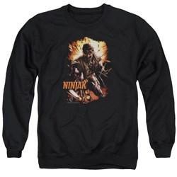 Ninjak - Mens Fiery Ninjak Sweater