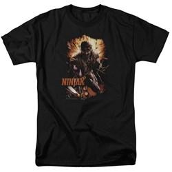 Ninjak - Mens Fiery Ninjak T-Shirt