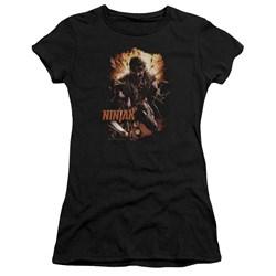 Ninjak - Womens Fiery Ninjak T-Shirt