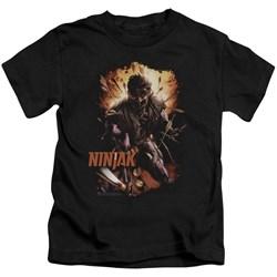 Ninjak - Little Boys Fiery Ninjak T-Shirt