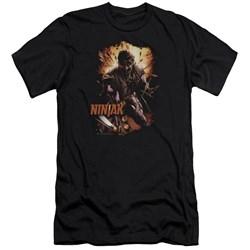 Ninjak - Mens Fiery Ninjak Slim Fit T-Shirt