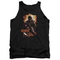 Ninjak - Mens Fiery Ninjak Tank Top