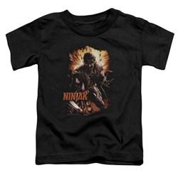 Ninjak - Toddlers Fiery Ninjak T-Shirt