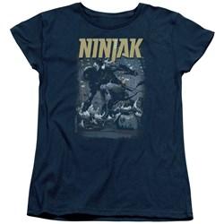 Ninjak - Womens Rainy Night Ninjak T-Shirt