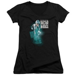 Doctor Mirage - Womens Crossing Over V-Neck T-Shirt