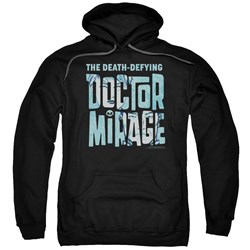 Doctor Mirage - Mens Character Logo Pullover Hoodie