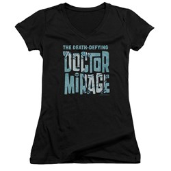 Doctor Mirage - Womens Character Logo V-Neck T-Shirt