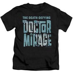 Doctor Mirage - Little Boys Character Logo T-Shirt