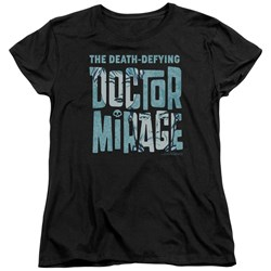 Doctor Mirage - Womens Character Logo T-Shirt