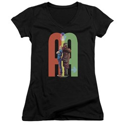 Archer & Armstrong - Womens Back To Bak V-Neck T-Shirt