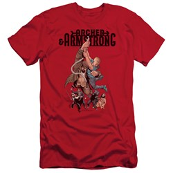 Archer & Armstrong - Mens Hang In There Slim Fit T-Shirt