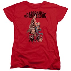 Archer & Armstrong - Womens Hang In There T-Shirt