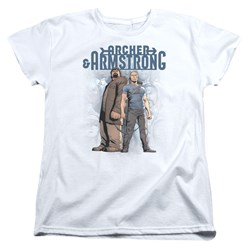 Archer & Armstrong - Womens Two Against All T-Shirt