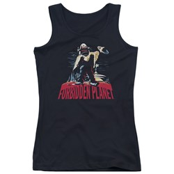 Forbidden Planet - Juniors Robby And Woman Tank Top