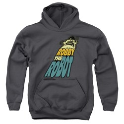 Forbidden Planet - Youth Robby The Robot Pullover Hoodie