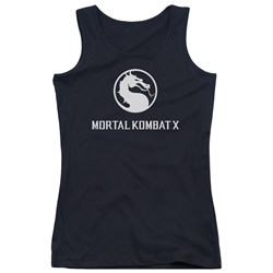 Mortal Kombat - Juniors Dragon Logo Tank Top
