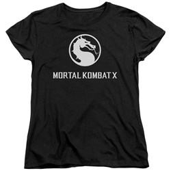 Mortal Kombat - Womens Dragon Logo T-Shirt