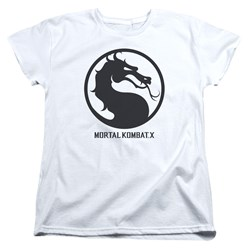 Mortal Kombat - Womens Seal T-Shirt