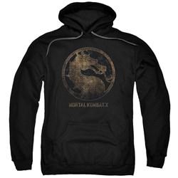 Mortal Kombat - Mens Metal Seal Pullover Hoodie
