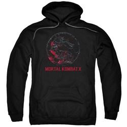 Mortal Kombat - Mens Bloody Seal Pullover Hoodie