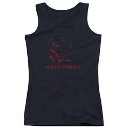 Mortal Kombat - Juniors Bloody Seal Tank Top
