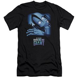 Iron Giant - Mens Giant And Hogarth Slim Fit T-Shirt