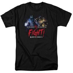 Mortal Kombat - Mens Fight T-Shirt