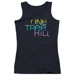 One Tree Hill - Juniors Color Blend Logo Tank Top