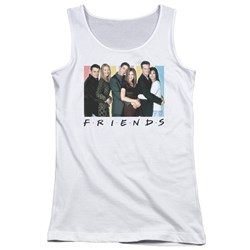 Friends - Juniors Cast Logo Tank Top