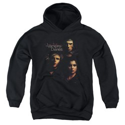 Vampire Diaries - Youth Smokey Veil Pullover Hoodie